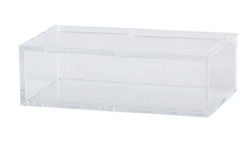 Oppbevaringsskuff med lokk PP 5x16x10 cm