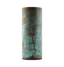 Vase Effect Ø 8x21 cm - Grøn