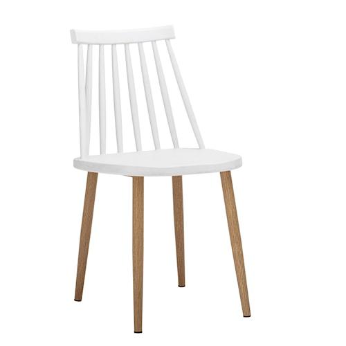 Stol Bajo - Vit
