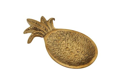 Underlägg för Sked Ananas Guld