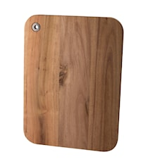 Skärbrada akascia trä fyrkantig 37x28 cm