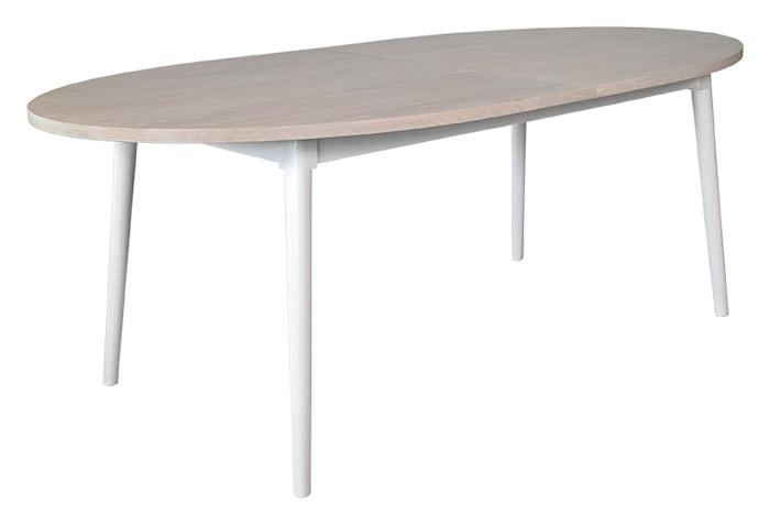 Asperö ovalt spisebord med innlegg