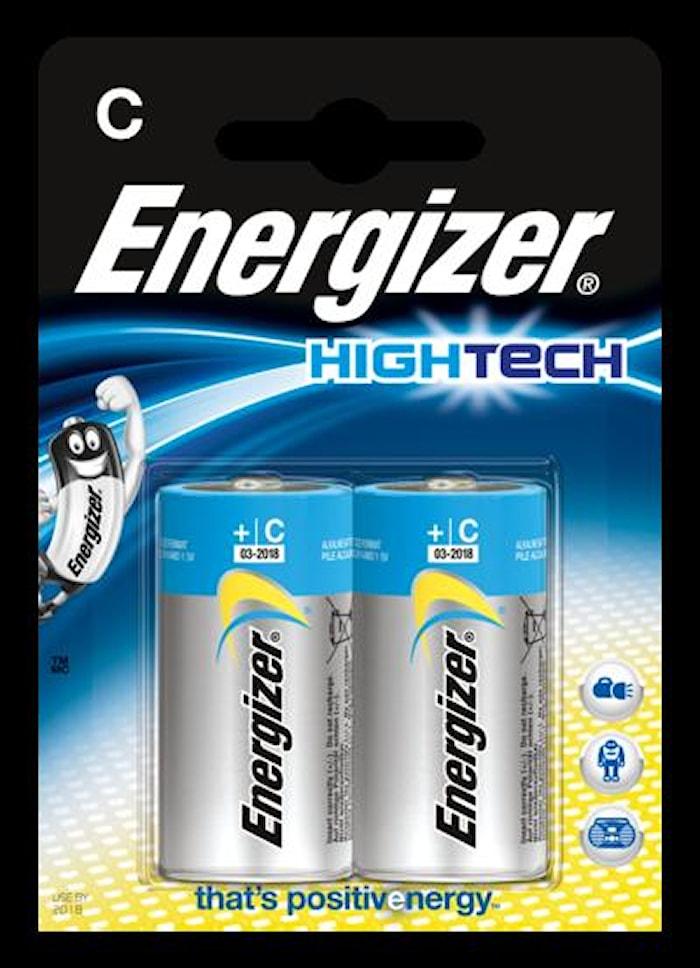 Batteri Energizer HighTech LR1 4/C, 1,5 V, 2 stk