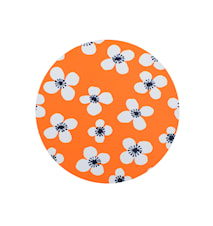 Belle Amie Bordskåner Orange Ø 21 cm