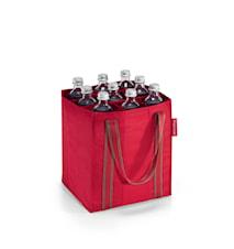 Väska till 9 flaskor Röd