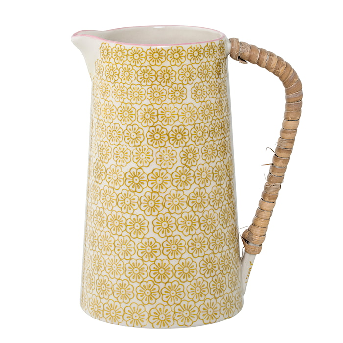 Mælkekande Blommig Gul Stentøj 10x17 cm