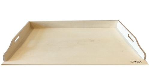 Bakbord i trä 80x60x7,5