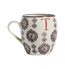 LETTER cup, T