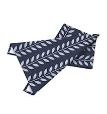 Håndduk blå/Grå leaves L70cm B
