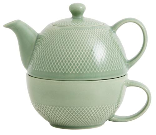 "Temugge ""Tea For One"" Ø 12 cm - Grön"