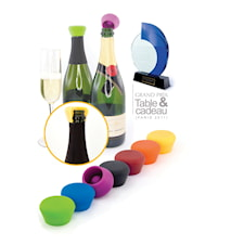Champagne cork Silicone 2-pack