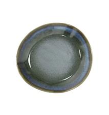 70's Keramik Assietter Grön