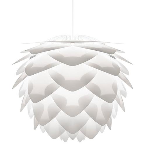 Silvia lampa – Vit