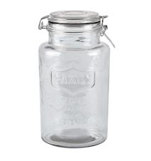 Förvaringsskål med lock Glas 13x23,5 cm/2 Liter