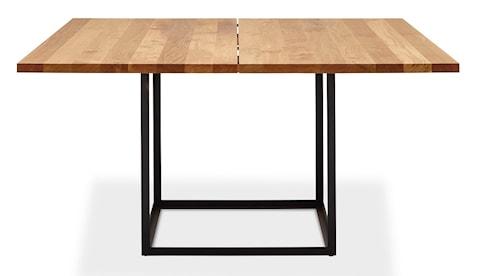 Jewel table Oil oak, Black - 140x140