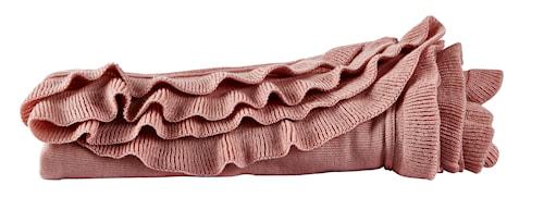 Pläd Akryl Rosa 130x160 cm