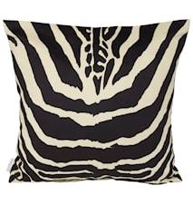 Safari Zebra Kuddfodral 45x45 cm