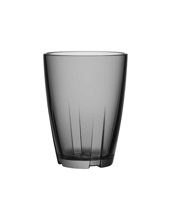 Bruk Grå Dricksglas Stor 2-pack