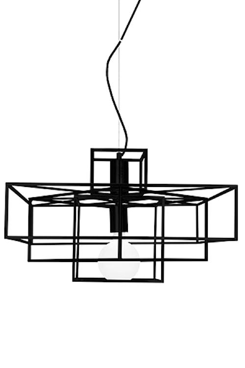 Pendel Cube Mattsvart