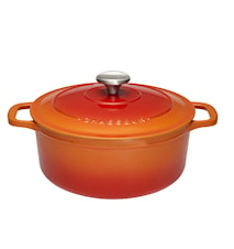 Gryta Rund 5,2 liter Ø 26 cm Orange