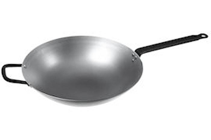 Wok Ø 38 cm, rund bund 6,7 L