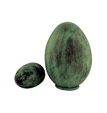 Collection Ägg 25 cm Medium Antikgrön