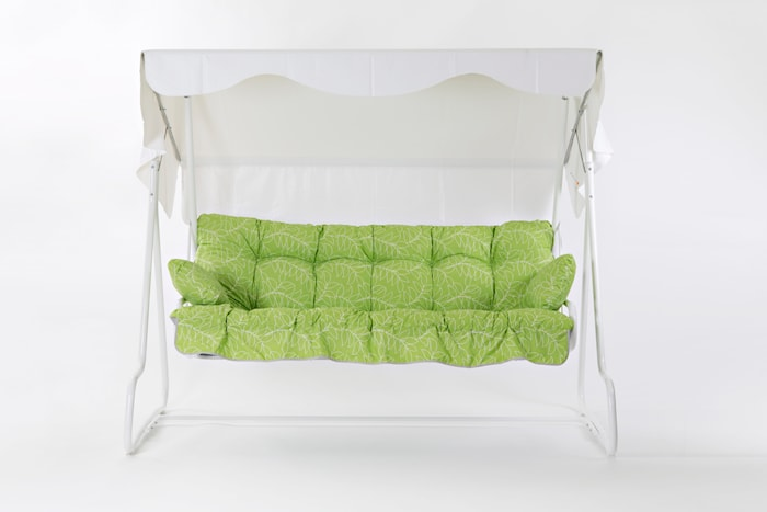 Hængesofa De Luxe 3-personers Grøn