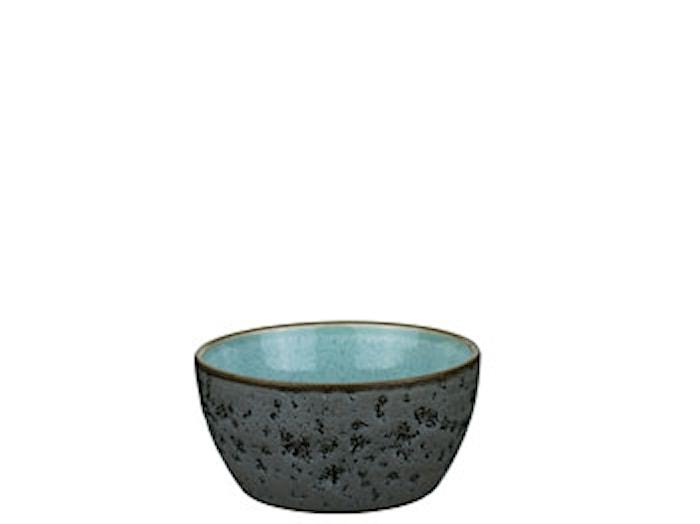 Skål 6 cm Ø12 cm grå/lyseblå st