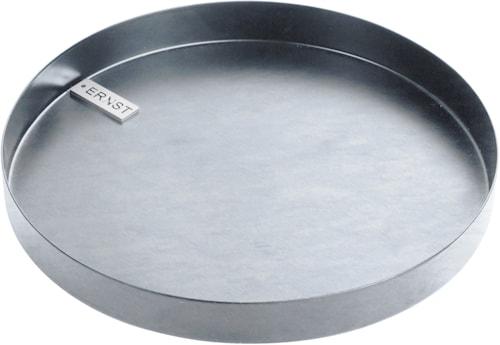 kynttilätarjotin pyöreä d18 cm Sinkitty