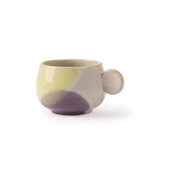 Gallery Keramik Kaffekopp Gul/Lila