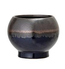 Flowerpot, Blue, Stoneware
