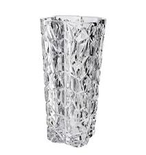 Vas fyrkantig kristallglas höjd 24 cm