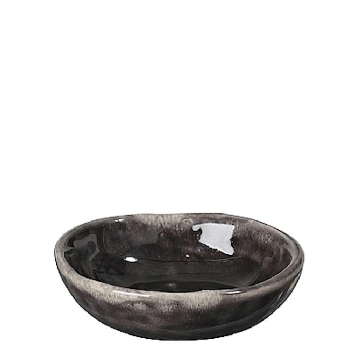 Smørfad Nordic Coal Ø 7 cm