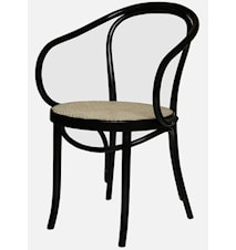 Thonet No 30 karmstol med Rottingsits