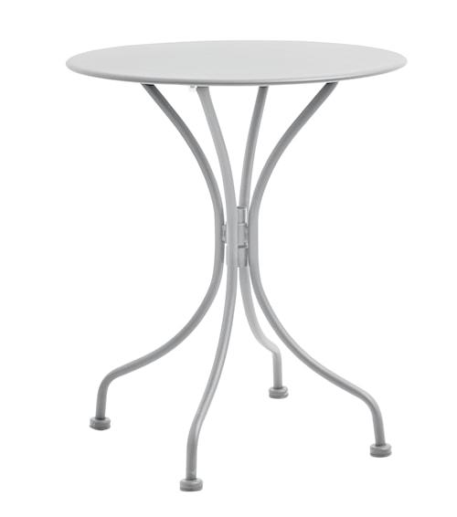 Trädgårdsbord Ø 59 cm - Grå