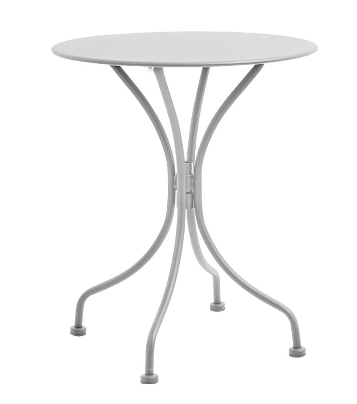 Trädgårdsbord Ø 59 cm Grå