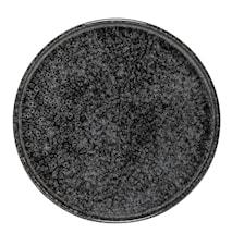 Noir Tallerken Svart Steintøy 24 cm