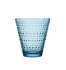 Kastehelmi drikkeglas 30cl lysblå 2-pak
