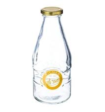 Mjölkflaska med Guldlock 568ml