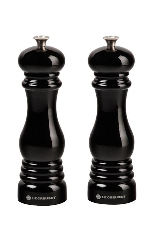 Salt- og pepperkvernsett 21 cm Black