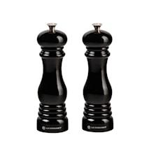 Salt- och pepparkvarnset 21 cm Black