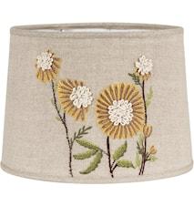 Sofia Sunflower Broderi, linen