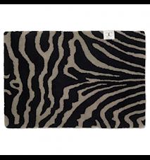 Dörrmatta Zebra Svart/Grå 60x90 cm