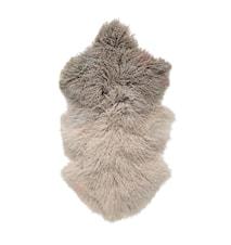 Sauseskinn Brun Tibetanskt Lamskinn 90x50 cm