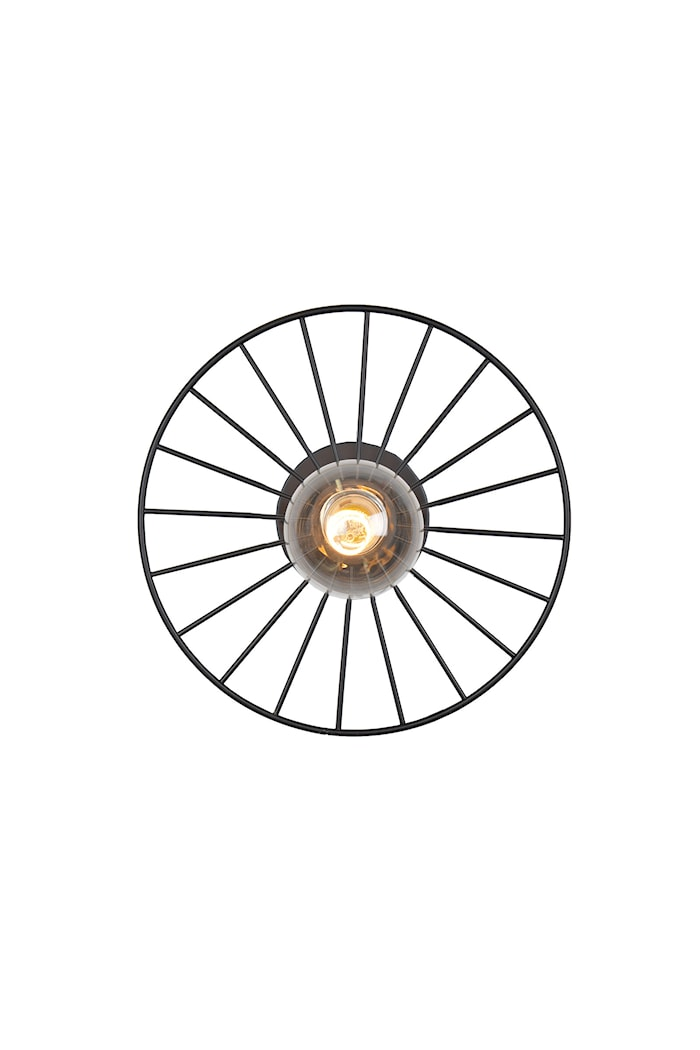 Taklampe Wheel Mini - Svart