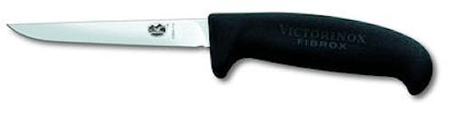 Fågelkniv, svart Fibrox, medel handtag