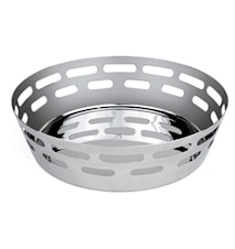 Bread basket circular 18cm Stainless steel