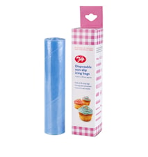 Disposable non-slip icing bags
