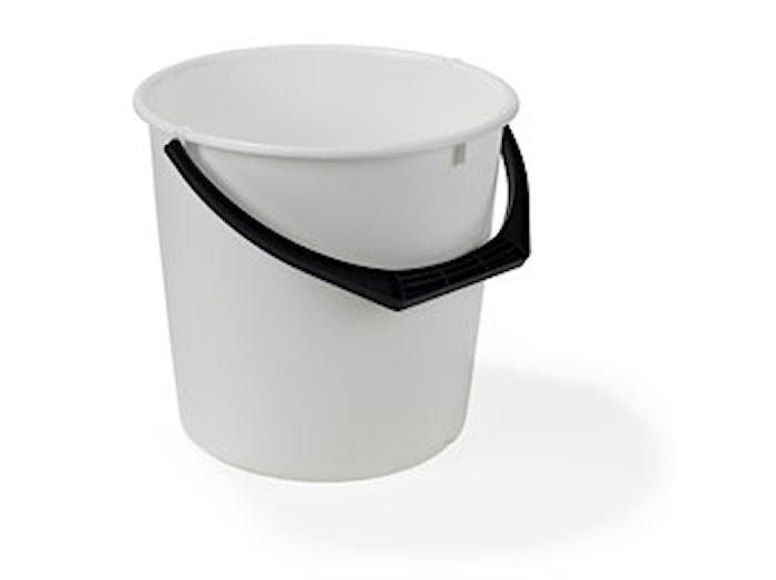 Muoviämpäri 10L Valkoinen