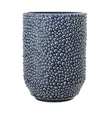 Vase Stone Blue Ø14,5x20,5 cm
